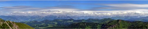 Part of the Alps by lomartistic