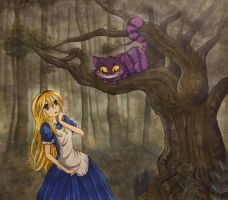 Alice in the Forest by iloveramen88