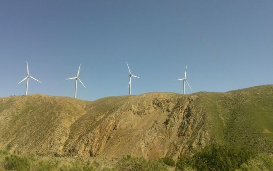 4 wind turbines of the Apocalypse by CrisisCorps