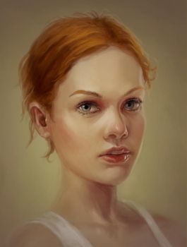 Girl Portrait 01 by me-illuminated