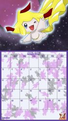 Pokemon 20th Anniversary Calender - April 2016 by AusLove