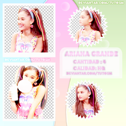 +Pack Png De ArianaGrande by TutosM