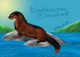 Bloodmarrow River Otter by Joava