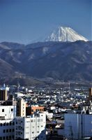 Mount Fuji from Kofu by Furuhashi335
