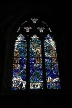 Stained glass window1 by NickiStock