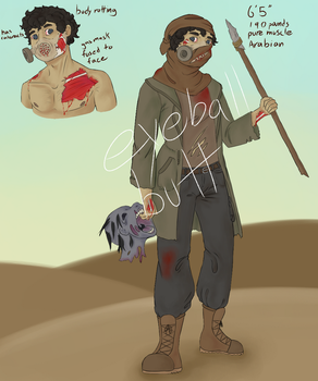 {OPEN} Zombie Apocolype {Auction} by Eyeball-Butt