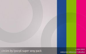 Circles sexy pack-4 new colors by lys036