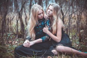Lovely Victoria and Julia by Fepka