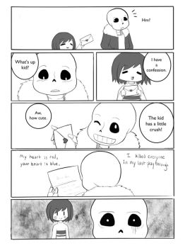 Frisk's Confession by BA-Robin