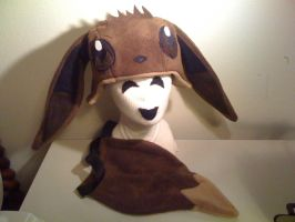 EEVEE Brown Hat and Tail Set by tacksidermia