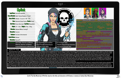 [Earth-27: Oracle Files] Uplink by Roysovitch