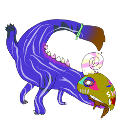 Candy monster OTA (REPOSTED) by Infinity-Goat-Scream