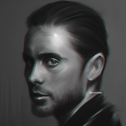 Jared Leto - Digital Painting by aLi2k4