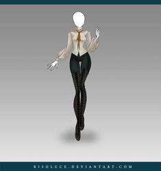 (CLOSED) Adoptable Outfit Auction 120 (3 in 1) by JawitReen