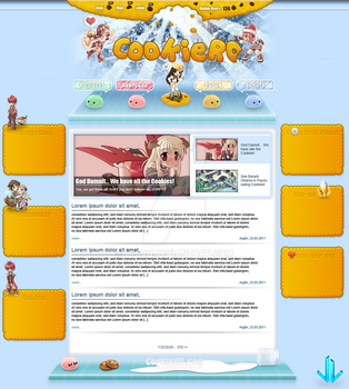 CookieRO Website by 4rg0n