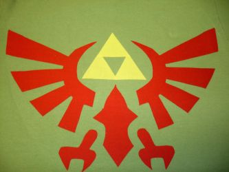 zelda design on ma shirt by medli96