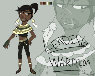 Leading Warrior [DT] by VixuSenpai