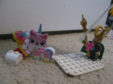 The Adventures of Lego Loki 19: I'm Hit! by crystal-of-ix