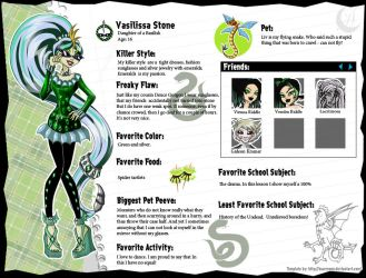 Monster High OC by Anzhelee