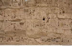 Photo Texture of Hieroglyph by environment-textures