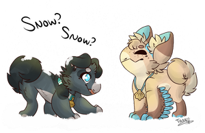 WP 25 Repeat | Snow Snow?! by Taeqii