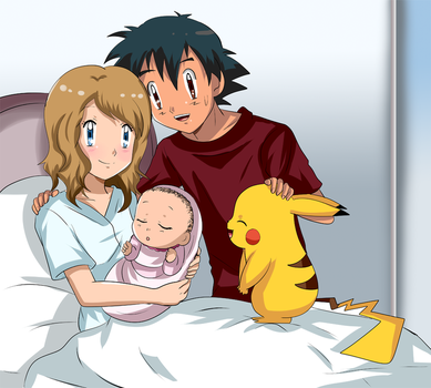 amourshipping adult family by hikariangelove