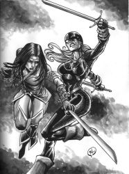Cheshire vs Ravager by RudyVasquez