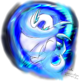 Lugia Water Dragon Form (Version 1.5) by Eternalskyy