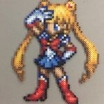Sailor Moon Perler by TehMorrison
