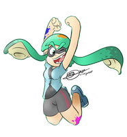 Splatoon HYPE by drivojunior
