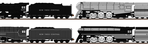 New York Central Hudsons by Andrewk4