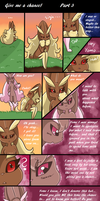 Give me a chance! Part 3 by PlatinaSena