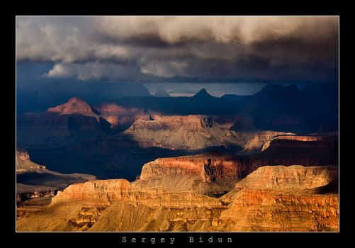 Grand Canyon. 'Storm Coming' by sergey1984