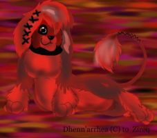 Dhenn'arrhea, for Zireq by Lily-the-pink