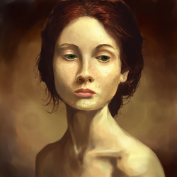 Portrait Study by kYnQuinhe