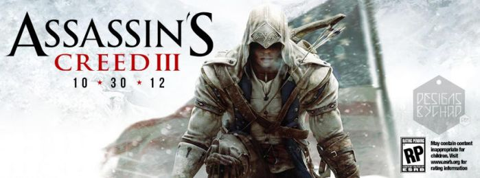 Assassins Creed 3 FB Cover Photo by Chadski51