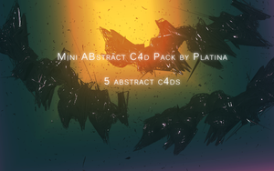 Mini Abstract C4d Pack By Platina by Platinification