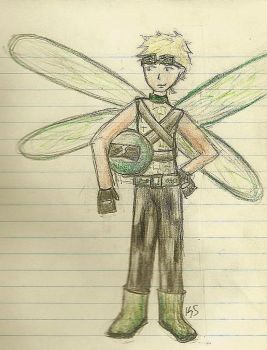 Search and Rescue Dragonfly by Jennedra
