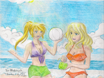 Rose Silver and Sarah Williams (Colored Lineart) by Bladeninja76