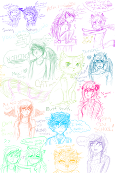 Hey look another sketchdump by Box-of-YEHET