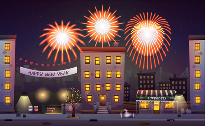 New Year's Eve by pica-ae