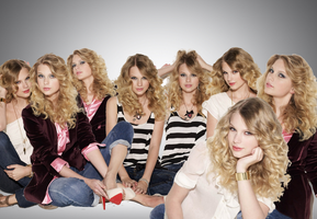 Taylor Swift Clones 3 (quick manip) by morgoth12345