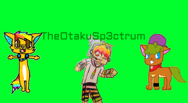 OtakuSp3ctrum background by AmyFluffyPaws