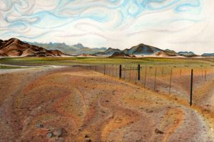 Namibia - Fence by cvalphen