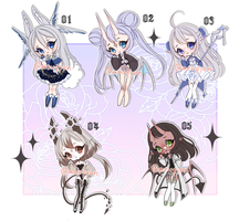 ADOPTS: Mixed Batch [CLOSED] by Mewpyonadopts