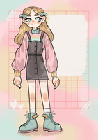[OPEN] girl adopt auction with 2$ SB! by Hirsee