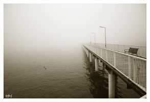 Misty Sea by DanStefan