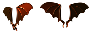 Creature Wings png by mysticmorning