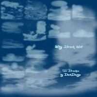 Sky Brushes by silver-