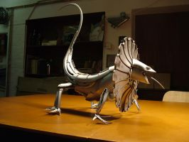 Frilled Lizard by HubcapCreatures